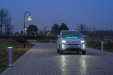Using Velodyne's smart lidar sensors, HoloParking provides users with safe and reliable autonomous parking services. (Photo: Business Wire)