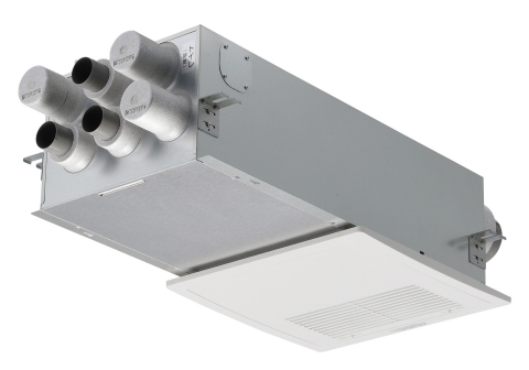 Energy recovery ventilator system (Japan) (Photo: Business Wire)