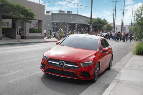 "Mercedes-Benz 2019 A-Class ""Say the Word"" Commercial (Photo: Business Wire)"
