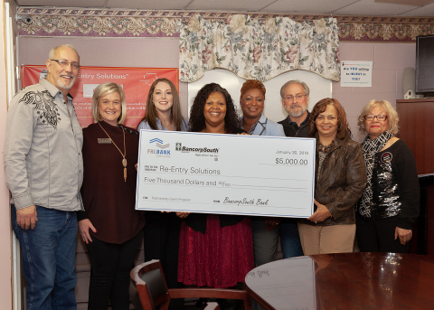 Re-Entry Solutions will hire a new executive director, thanks in part to a $5,000 partnership grant from BancorpSouth Bank and FHLB Dallas. (Photo: Business Wire)