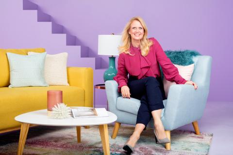 Barbara Schöneberger zieht bei Wayfair ein (Photo: Business Wire)