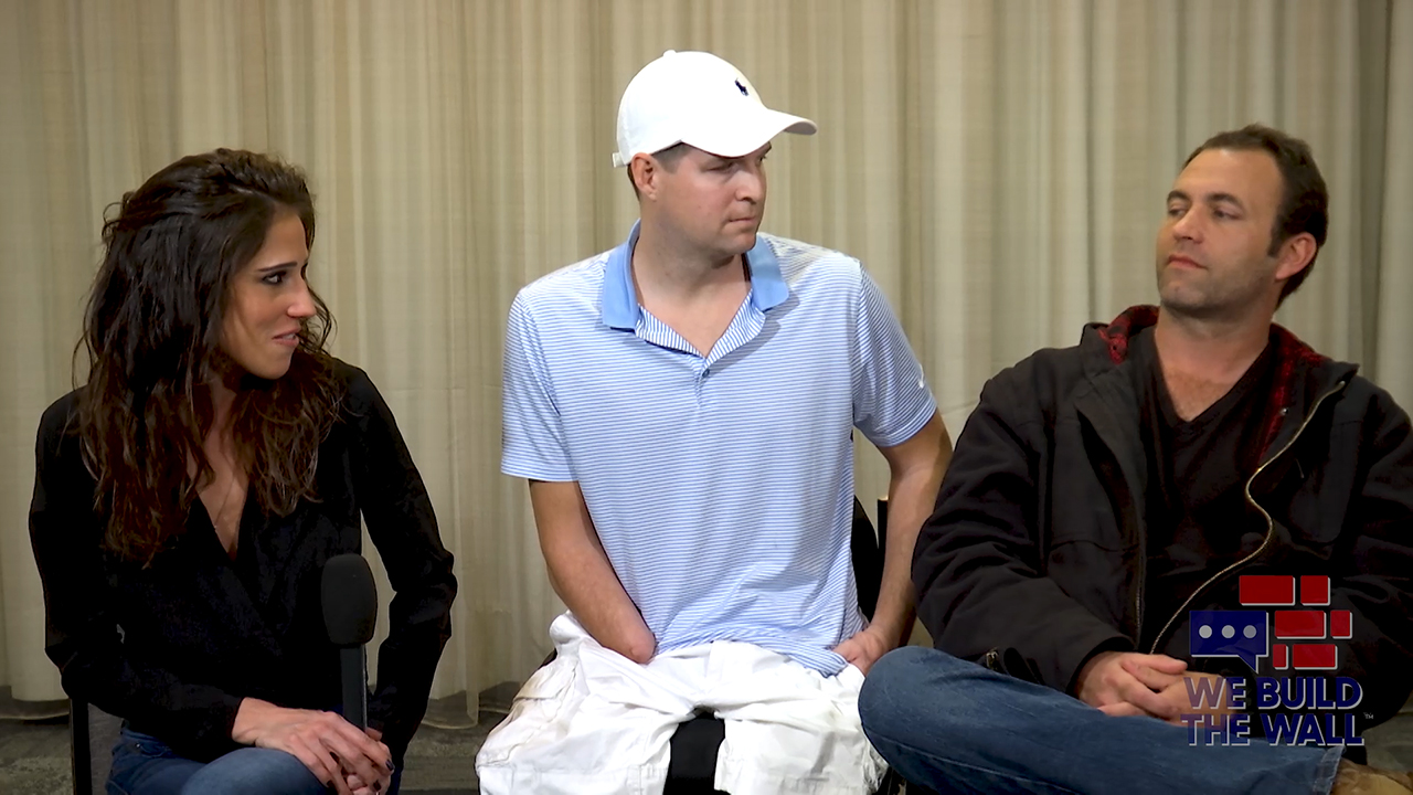 Triple amputee veteran Brian Kolfage and host Jennifer Lawrence speak to Brandon Darby about the US southern border.