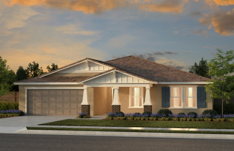 New KB homes are now available in Fresno. (Photo: Business Wire)