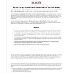 KKR Q4'18 Earnings Release