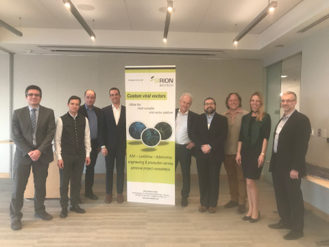 SIRION Biotech celebrated their move to Boston with a Grand Opening Reception at the Forsyth Institute in Cambridge. (Photo: Business Wire)