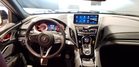 2019 Acura RDX Cockpit User Interface (Photo: Business Wire)