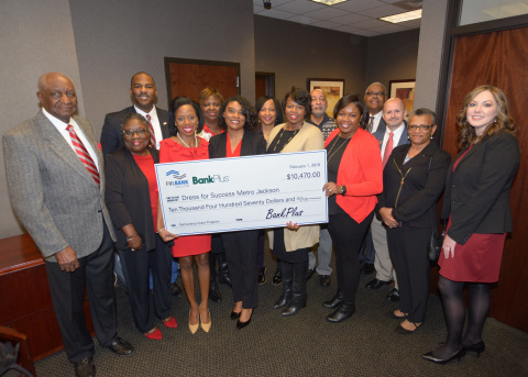 Nonprofit, Dress for Success Metro Jackson, was one of the three organizations that was awarded a grant through the Partnership Grant Program by the Federal Home Loan Bank of Dallas and BankPlus. (Photo: Business Wire)