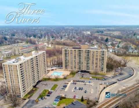 Besyata Investment Group and The Scharf Group acquired Three Rivers Apartments in Fort Wayne, IN for a Purchase Price of $32.25 Million. (Photo: Business Wire)