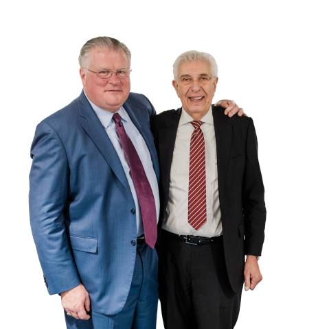 John Hutchinson and Morley Greene of Trez Capital. (Photo: Business Wire)