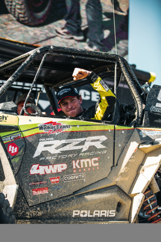 Mitch Guthrie Jr. Defends King of The Hammers Title with First-Place Victory in New RZR XP® Turbo S Velocity (Photo: Business Wire)