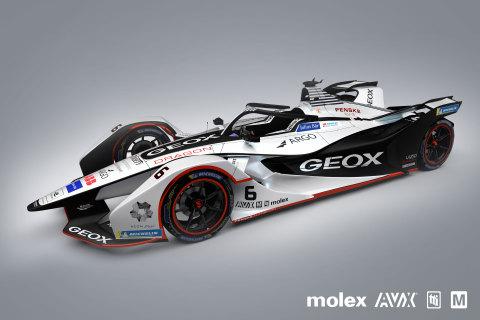 Mouser Electronics, TTI Inc., Molex and AVX are teaming up to sponsor the GEOX DRAGON team for the 2019 FIA Formula E series. For more information, visit www.mouser.com/formula-e. (Photo: Business Wire)