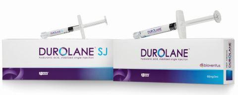 DUROLANEは、変形性膝関節症に伴う疼痛の治療で関節に潤滑機能をもたらすために使用する単回注射のヒアルロン酸製品です。(写真:ビジネスワイヤ)