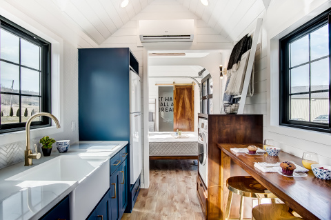 Allswell Unveils Tiny Home Retail Concept (Photo: Business Wire)