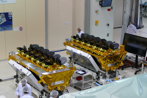 O3b Satellites Arrive at Kourou for March Launch (Photo: Marie Ange Sanguy)