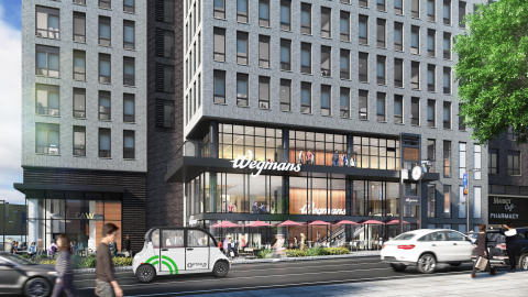 Beginning in June 2019, Optimus Ride will provide tenants at buildings currently on the Halley Rise site (One Reston Crescent and Two Reston Crescent) with access to efficient self-driving mobility completely contained within the development site. (Photo: Business Wire)