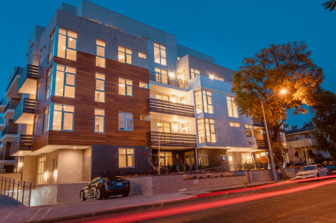 Empire Property Group: Empire at Norton Luxury West Hollywood Apartments (Photo: Business Wire)