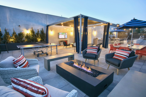 Empire Property Group: Empire at Norton West Hollywood Rooftop (Photo: Business Wire)