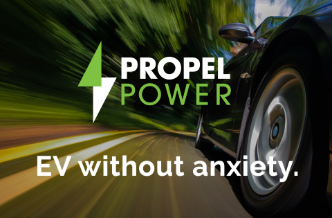Propel Fuels announces plans to launch an electric vehicle (EV) charging network to bring fast and affordable access across the state of California. (Graphic: Business Wire)