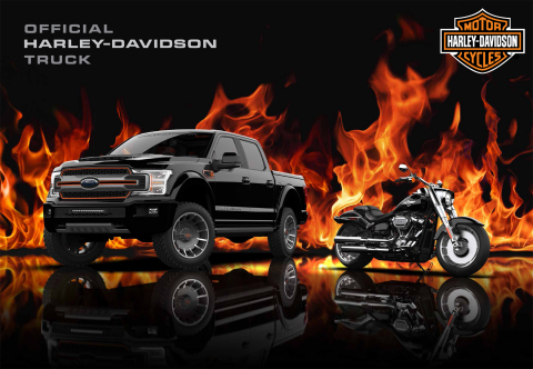 Harley-Davidson Ford F-150 (Photo: Business Wire)