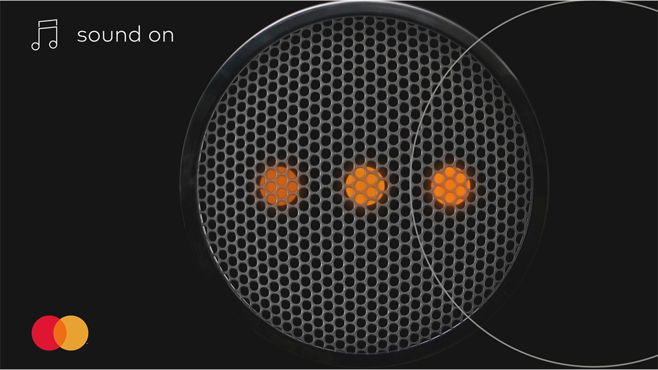 Mastercard debuts its Sonic Brand Identity. Turn your sound on to hear the news.