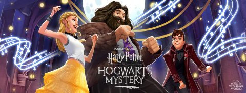 81e5616cd Harry Potter  Hogwarts Mystery Celestial Ball (Graphic  Business Wire)