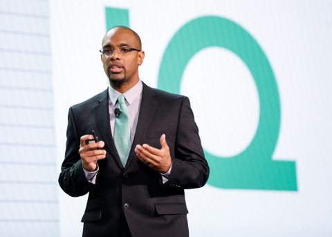 Derrick Wesley, iMar Learning Solutions, the TD Ameritrade Institutional Innovation Quest winner Photo credit: LILA PHOTO for TD Ameritrade
