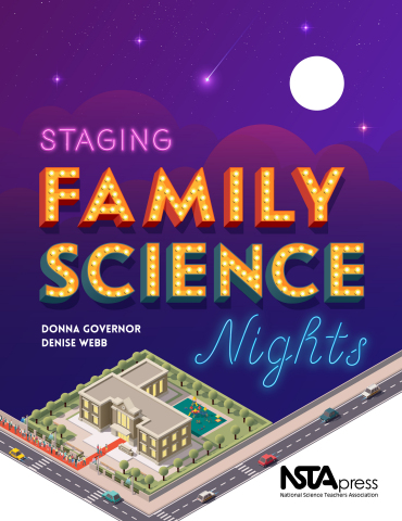 Staging Family Science Nights book cover (Graphic: Business Wire)