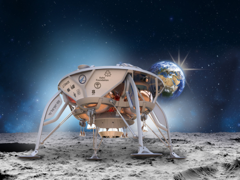 Spaceflight to Launch First Privately Funded Lunar Lander (Photo: Business Wire)