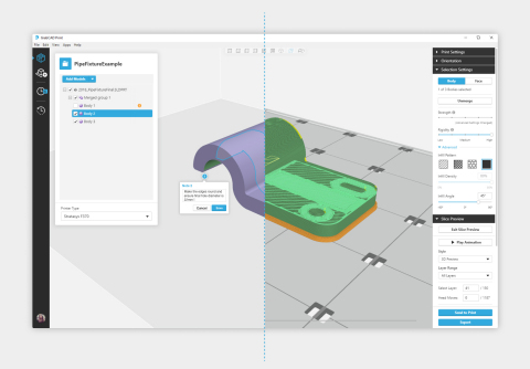 GrabCAD Advanced FDM eliminates the CAD-to-STL conversion process - creating new possibilities for designers and engineers with 3D Printing. (Graphic: Business Wire)