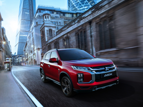 Mitsubishi Motors to unveil the boldly designed 2020 Outlander Sport at the Geneva Motor Show (Photo ...