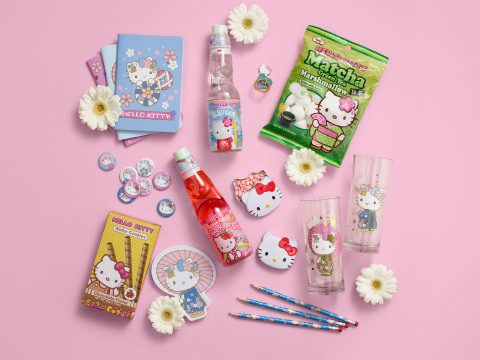 Items from the new Hello Kitty Collection at World Market (Photo: Business Wire)