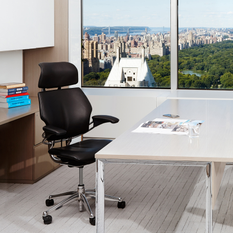 Humanscale Celebrates 20 Years of Freedom chair (Photo: Business Wire)