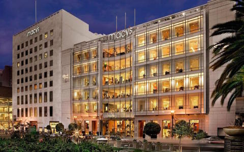 The I. Magnin building, located at 233 Geary St. in San Francisco's historic Union Square, was sold by Macy's to Efi Luzon's client Sand Hill Property Co. (Photo: Business Wire)