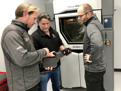 The team at Andretti leverage the Stratasys Fortus 450mc 3D Printer to speed design and development. ...