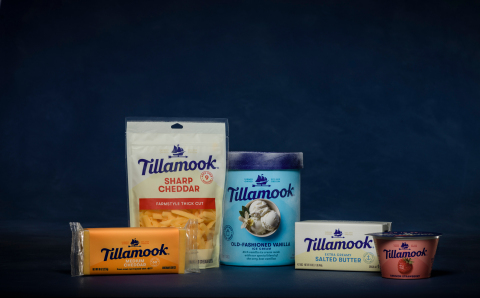 Tillamook unveils new brand identity in celebration of 110th anniversary. (Photo: Business Wire)