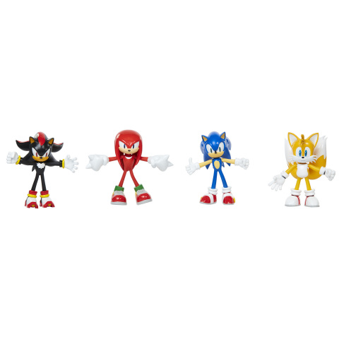Sonic the Hedgehog 4-inch Figures by JAKKS Pacific (Photo: Business Wire)