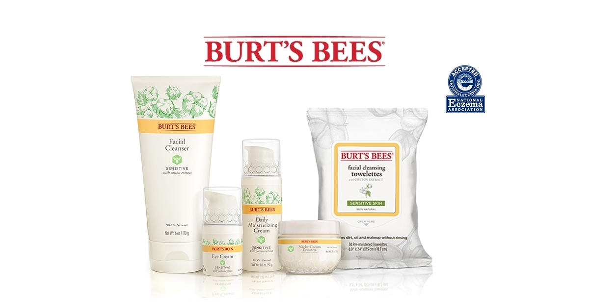 Journal Of Drugs In Dermatology Publishes Study Showcasing Clinical Improvements With Burt S Bees Sensitive Skin Regimen As Adjunct To Rosacea Prescription Therapy Business Wire