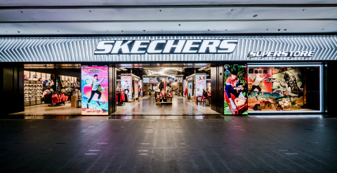 Skechers crosses the 3,000-retail-store milestone with the Company's largest in the world – a 32,100 ...