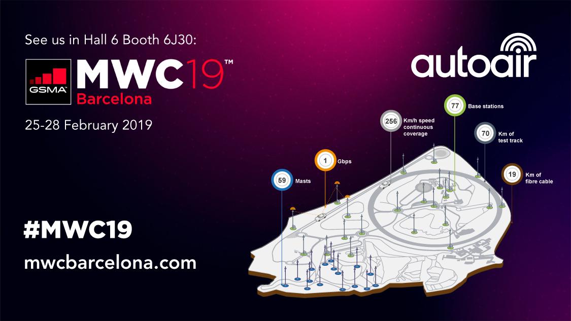 AutoAir 5G Connected and Autonomous Vehicle Test Bed Goes