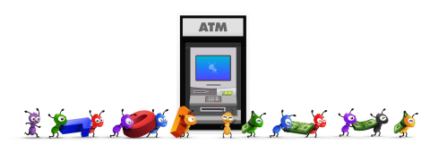 ATM.com - You own your data. Get paid when it's used. Ant is the solution. (Graphic: Business Wire)