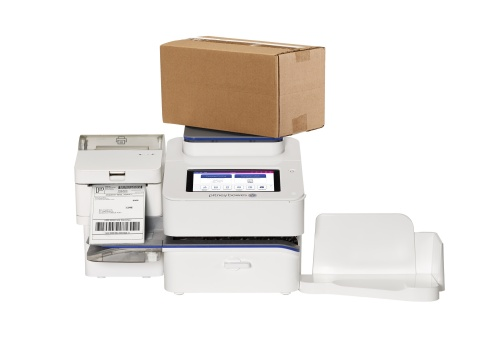 SendPro+, an industry-first shipping and mailing innovation from Pitney Bowes (Photo: Business Wire)