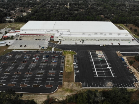 McLane Company's new grocery distribution center in Ocala, FL (Photo: Business Wire)