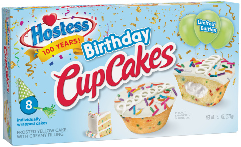 Hostess® Birthday CupCakes (Photo: Business Wire)
