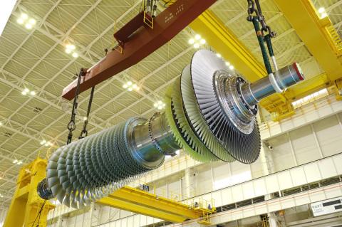 MHPS' J-Series Gas Turbine (Photo: Business Wire)
