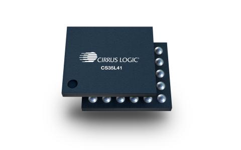 The Cirrus Logic CS35L41 smart power amplifier. (Photo: Business Wire)