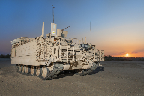 BAE Systems awarded contract modifications to begin low-rate production of the Armored Multi-Purpose Vehicle. (Photo: BAE Systems, Inc.)