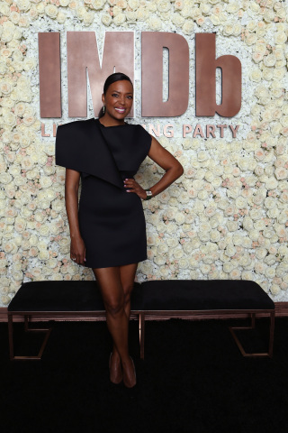"""Aisha Tyler will co-host the """"IMDb LIVE at the Elton John AIDS Foundation Academy Awards Viewing Party"""" (Photo: Getty Images for IMDb)"""