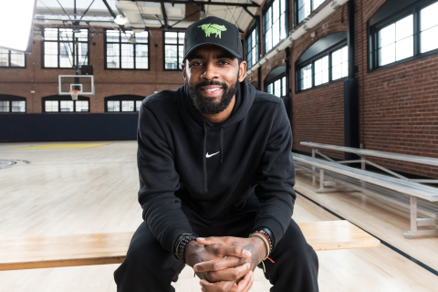 Kyrie Irving, Beyond Meat investor and ambassador. (Photo: Rick Bern)