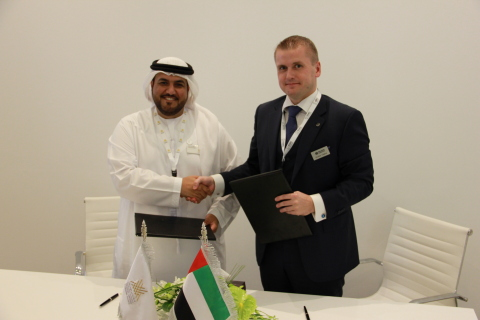The Estonian Defence Industry Association concluded a cooperation agreement with the Emirates Defence Companies Council (Photo: Business Wire)