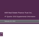 KREF Q4 2018 Supplemental Information